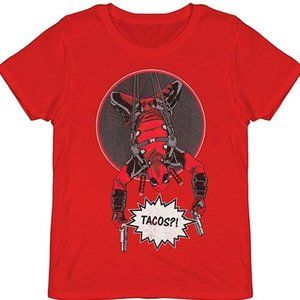 Heather red Marvel Deadpool t-shirt